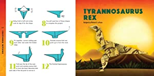 Origami Dinosaurs Kit: Prehistoric Fun for Everyone!: Kit Includes 2 Origami Books, 20 Fun Projects and 98 High-Quality Origami Papers