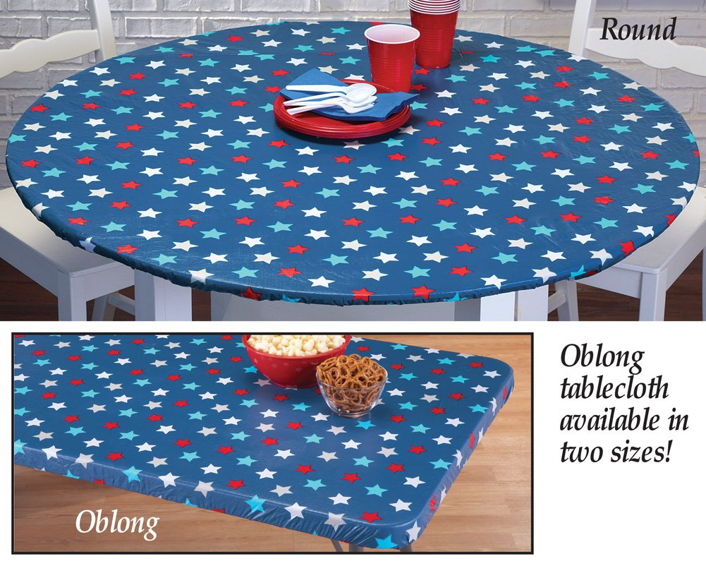 Fourth of july table covers fourth of july wikii for 108 inch round tablecloth fits what size table