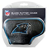 Team Golf NFL Carolina Panthers Golf Club Blade Putter Headcover, Fits Most Blade Putters, Scotty Cameron, Taylormade, Odyssey, Titleist, Ping, Callaway