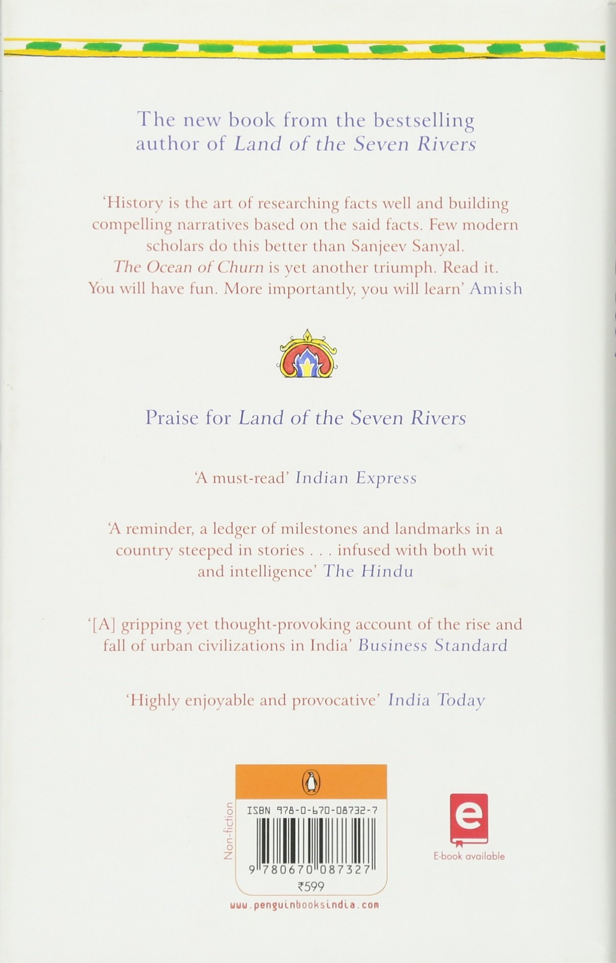 Buy The Ocean Of Churn: How The Indian Ocean Shaped Human History Book  Online At Low Prices In India  The Ocean Of Churn: How The Indian Ocean  Shaped Human