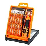 Professional Screwdriver Set - 33 in 1 Portable Opening Tool Compact Screwdriver Kit Set with Tweezers & Extension Shaft for Precise Repair or Mainten