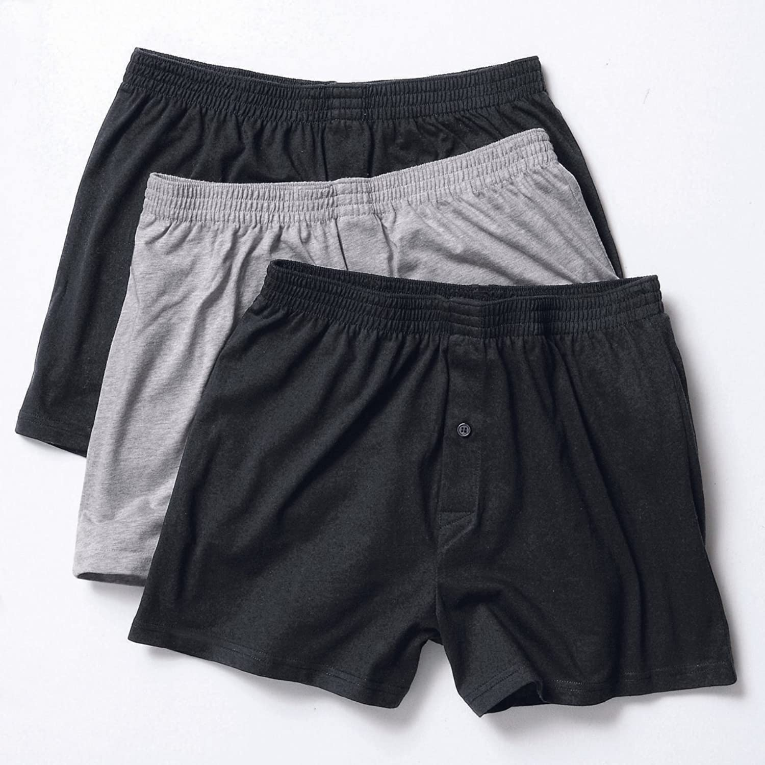 Taillissime Mens Pack Of 3 Boxer Shorts