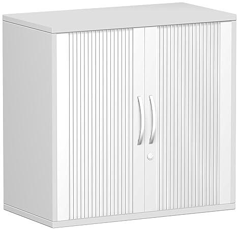querroll laden congelatore fondo esterno 25mm, con piedini, chiudibile a chiave, 800x 425x 798, argento/grigio chiaro