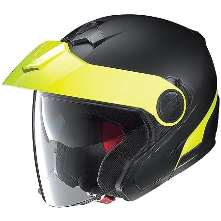 Nolan n 40 forme pLUS n-cOM casque jet-couleur :  noir/rouge taille :  s