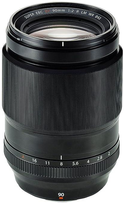 Fujifilm Objectif XF-90mm/F2.0 R LM WR pour Appareil photo hybride Noir