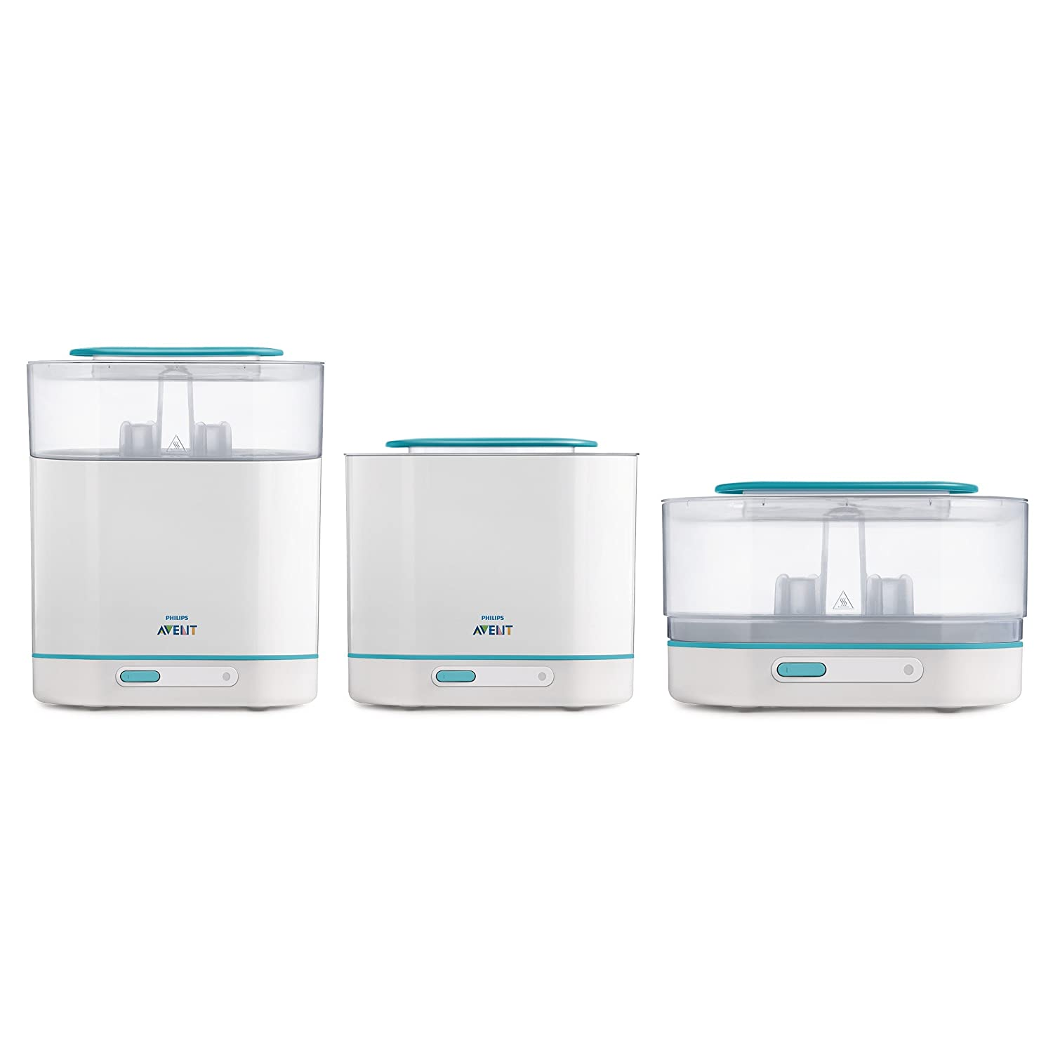 Máy tiệt trùng bình sữa Philips AVENT 3-in-1 Electric Steam Sterilizer