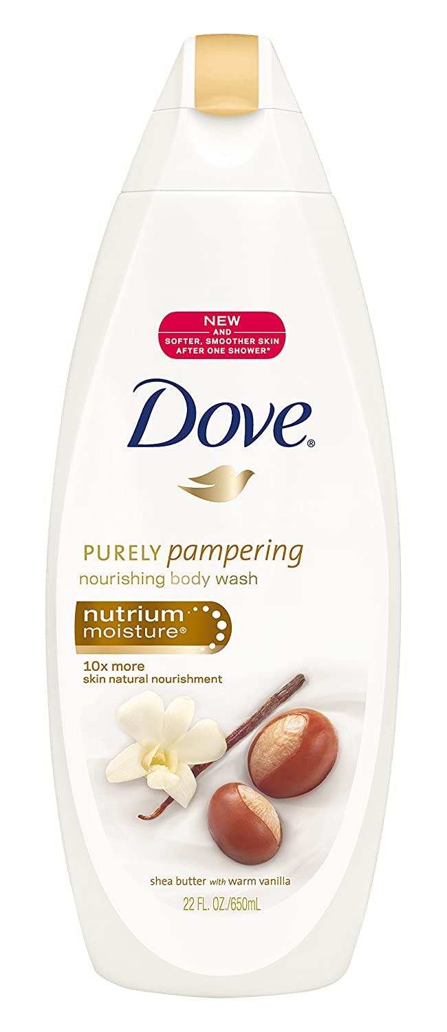 Dove Purely Pampering Body Wash, Shea Butter & Warm Vanilla 22 Ounces