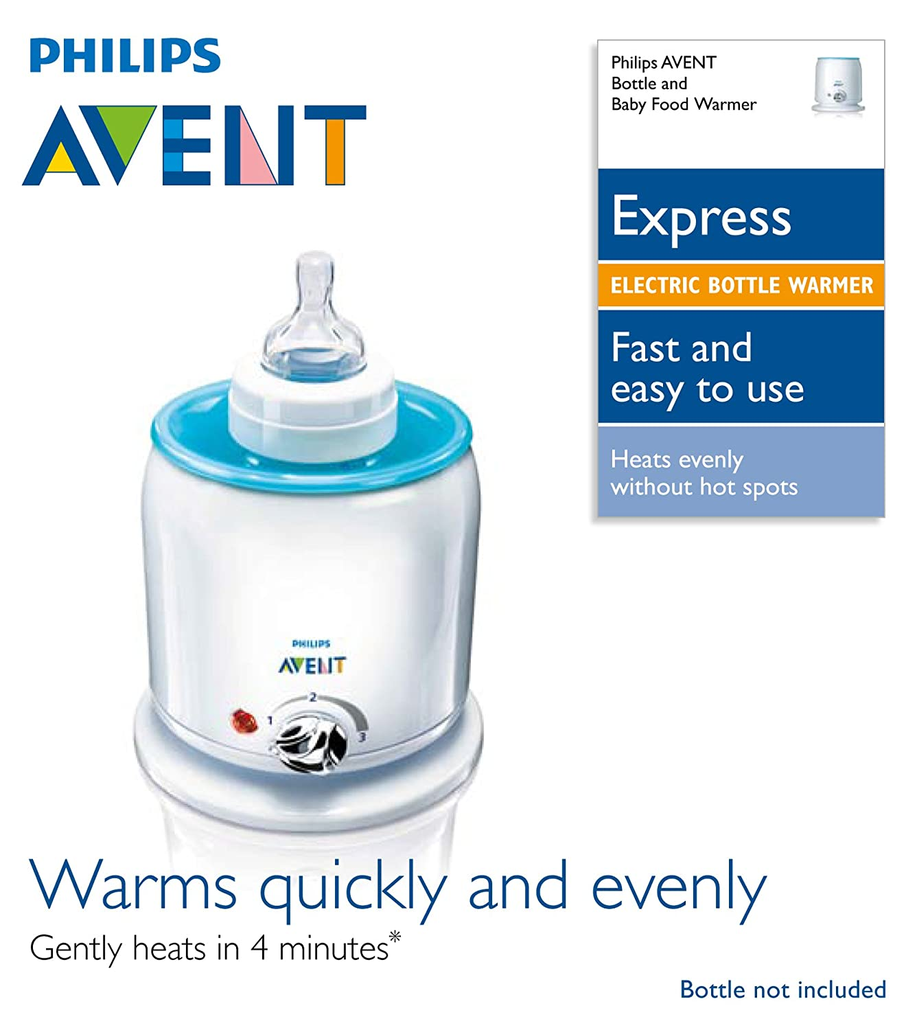 Philip Travel Bottle Warmer ~ Philips avent express food and bottle warmer new free