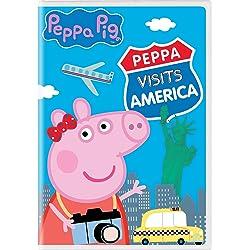 Peppa Pig: Peppa Visits America [DVD]