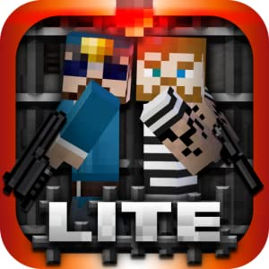 Prison Break Craft 3D Lite - Survival Cops N Robbers Mine Mini Game by All Games and Survival FPS