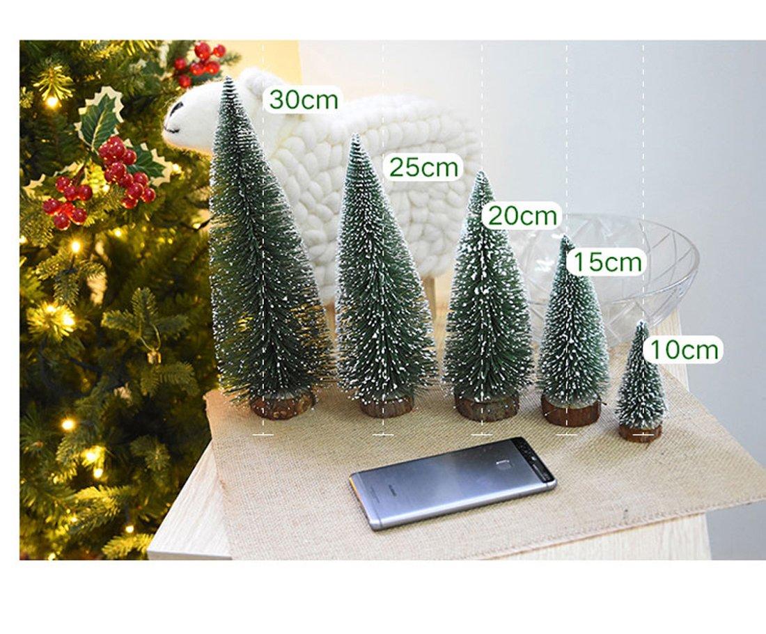 1pcs Artificial Tabletop Mini Pine Christmas Trees