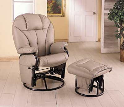 baby nursery glider recliner with ottoman gliding rockers chair