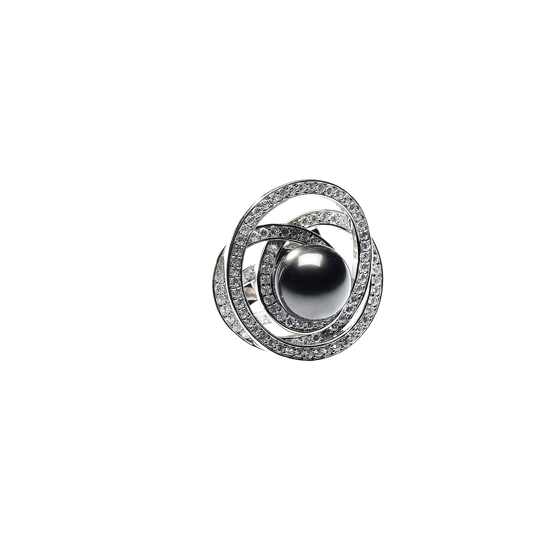 loveyourdiamonds Damen Extravaganter Perlenring, Größe 54 online kaufen