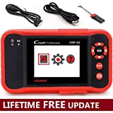 LAUNCH Crp123 Scan Tool OBD2/EOBD Scanner ENG/ABS/SRS/Transmission Automotive Diagnostic Scanner Datastream Graph Code Reader - Free Lifetime Update (Color: Red+CRP123, Tamaño: CRP123)