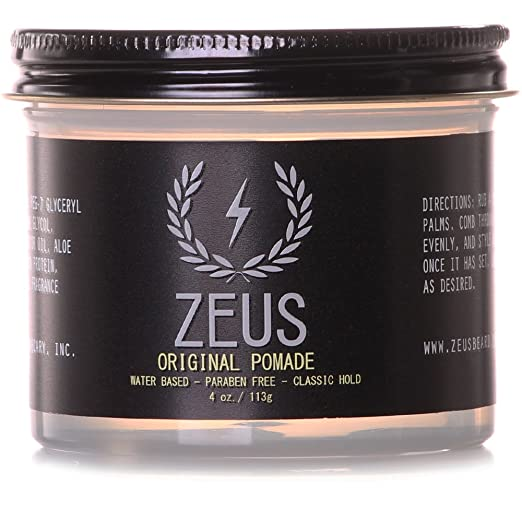 Zeus Water Based Classic Hold Pomade