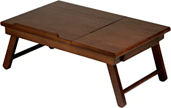 Winsome Wood Alden Lap Desk Tray w/Drawer