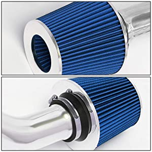 1PC ENGINE COLD AIR INTAKE KIT W//BLUE FILTER FOR 06-07 MAZDA 6 MAZDASPEED 2.3L
