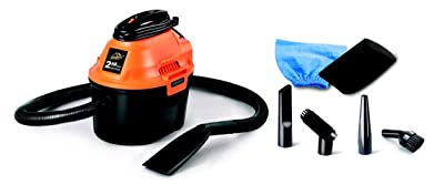 ArmorAll AA255 Utility Wet/Dry Vacuum, 2.5 gallon, 2 HP