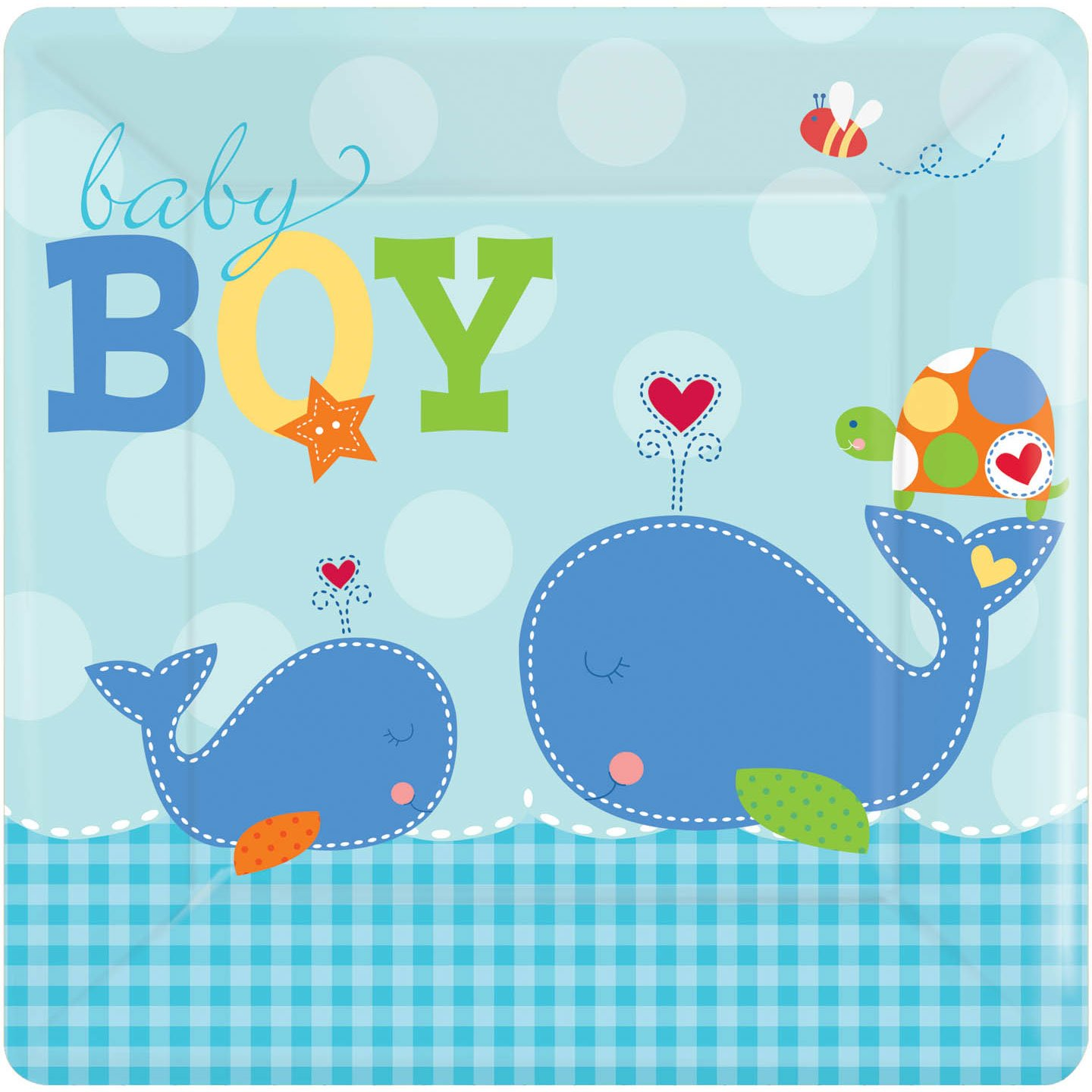 Baby Whale Baby Shower Decorations