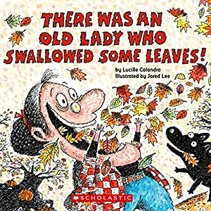 There Was an Old Lady Who Swallowed Some Leaves Audiobook