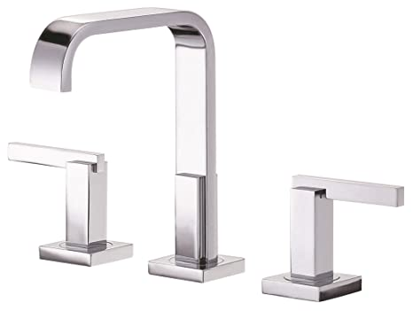 Danze D304644 Sirius Two Handle Mini-Widespread Lavatory Faucet, Chrome