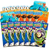 Disney Pixar Toy Story 4 Party Favors Pack ~ Bundle of 12 Toy Story Play Packs Filled with Stickers, Coloring Books, Crayons with Bonus Finding Dory Stickers (Toy Story Party Supplies) (Color: Toy Story, Tamaño: Party Favors)