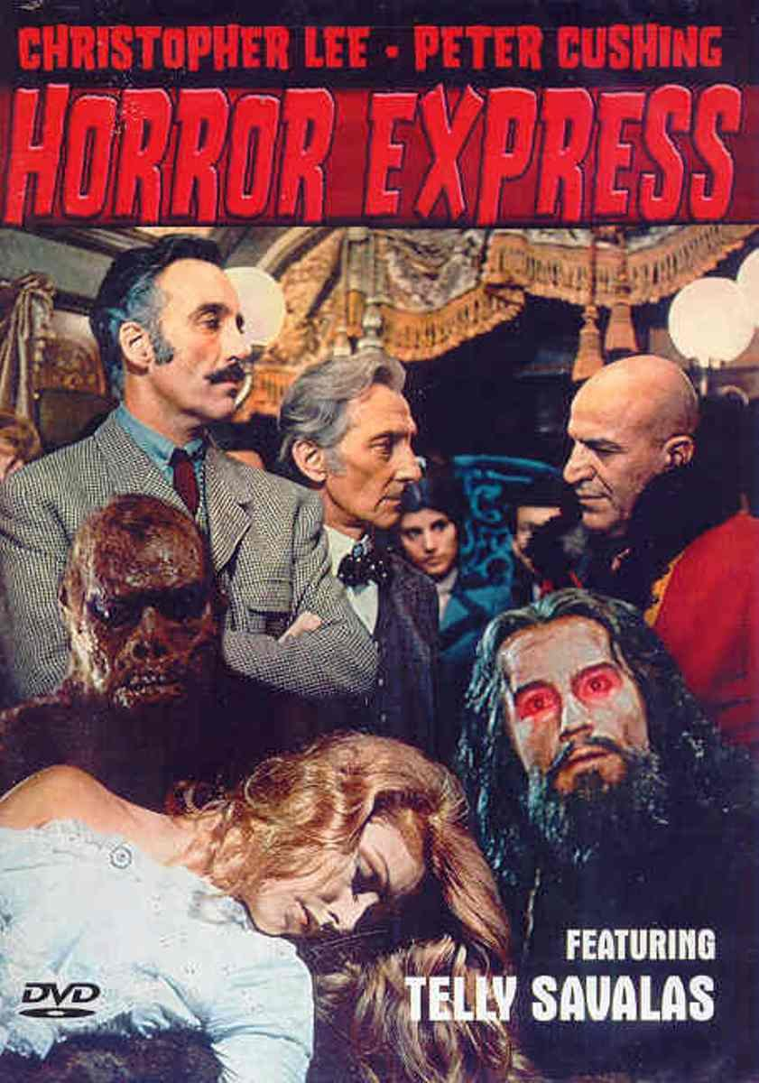Horror Express DVD Starring Christopher Lee, Peter Cushing, with Telly Savalas