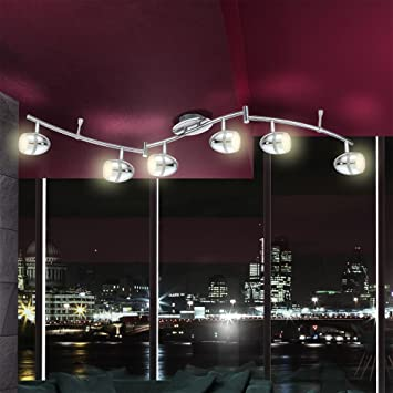 led deckenstrahler 6 flammig starlight us73. Black Bedroom Furniture Sets. Home Design Ideas