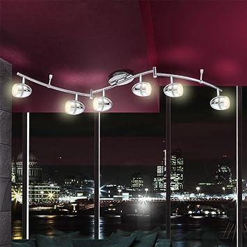 led deckenstrahler 6 flammig starlight us73. Black Bedroom Furniture Sets. Home Design Ideas