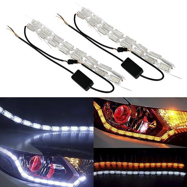 MotorFansClub LED Daytime Running Light For Mazda 3 Axela Car Fog ...