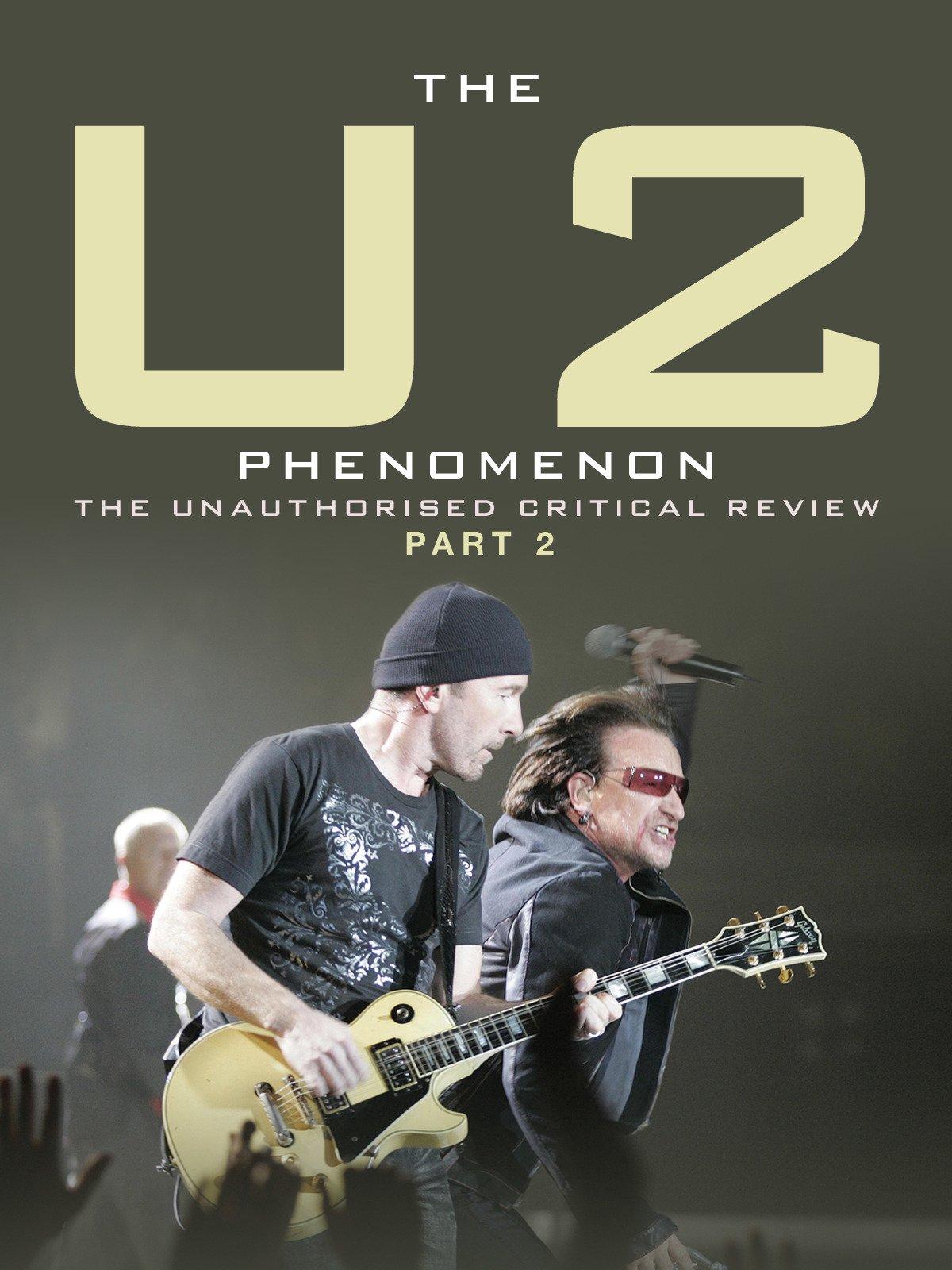 U2 on Amazon Prime Instant Video UK