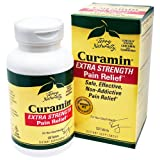 Terry Naturally Curamin Extra Strength, Safe and Powerful Pain Relief with BCM95 Curcumin 120 Tabs (Tamaño: 120 tablets)