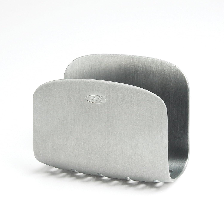 Perfect OXO Suction Sponge Holder Rust Proof Aluminum