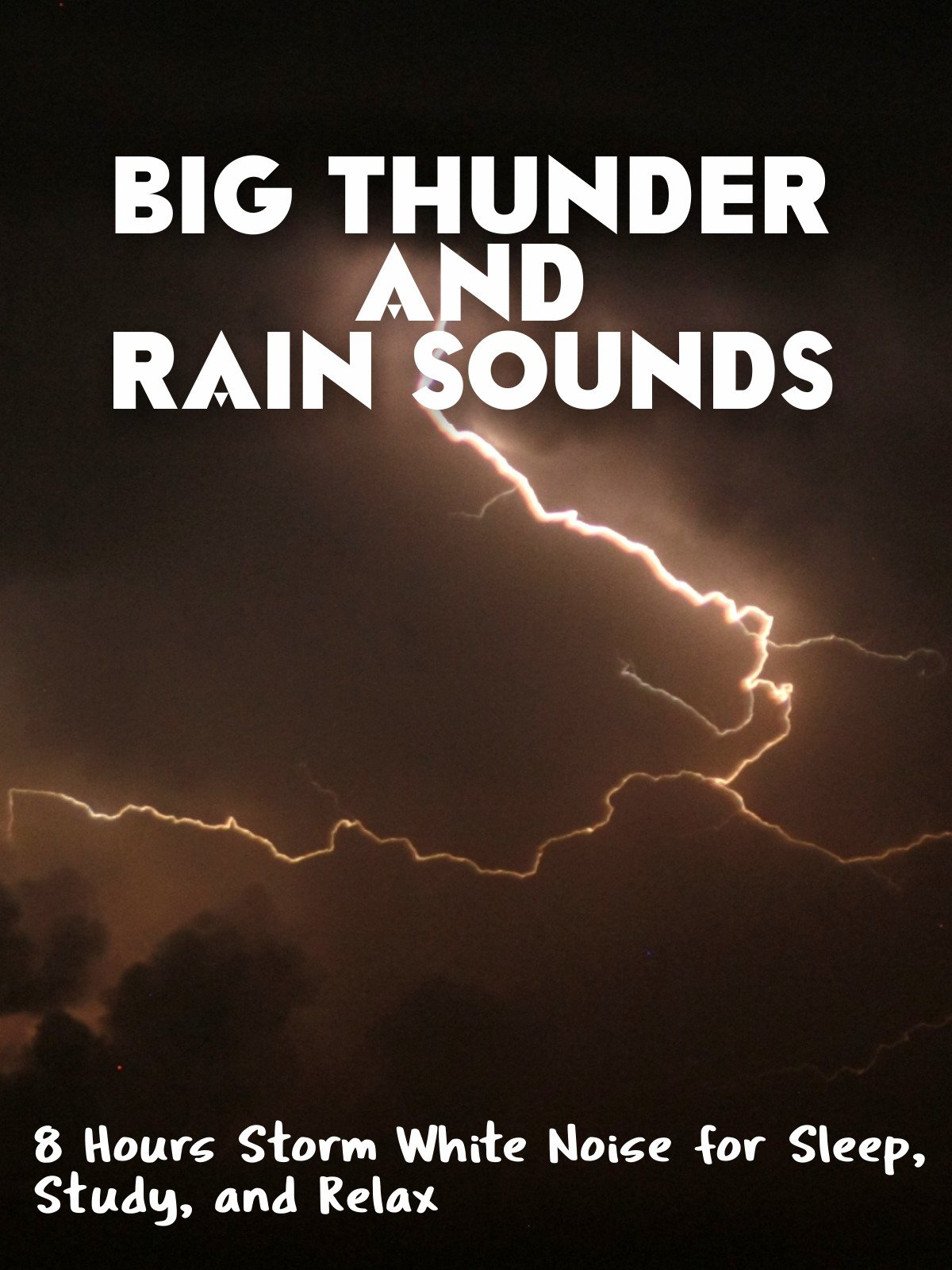 Big Thunder and Rain Sounds