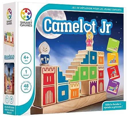 Smartgames - SG 031 FR - Camelot Jr - Jeu De Réflexion Et D'observation