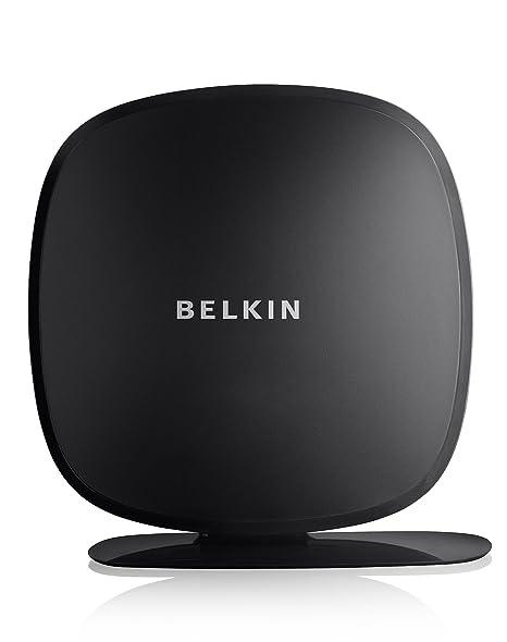 Belkin N450 - routeurs sans fil (128-bit WEP, 64-bit WEP, WPA, WPA2, IEEE 802.11n, Fast Ethernet, Noir, 802.11b, 802.11g, 802.11n, 10/100Base-T(X))
