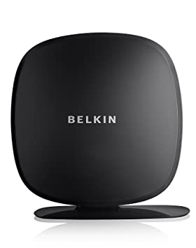 Belkin Play N450 - Router (10, 100 Mbit/s, 10/100Base-T(X), 802.11b, 802.11g, 802.11n, 150, 300 Mbit/s, Ethernet (RJ-45), IEEE 802.11b, IEEE 802.11g, IEEE 802.11n, IEEE 802.3, IEEE 802.3u) Negro