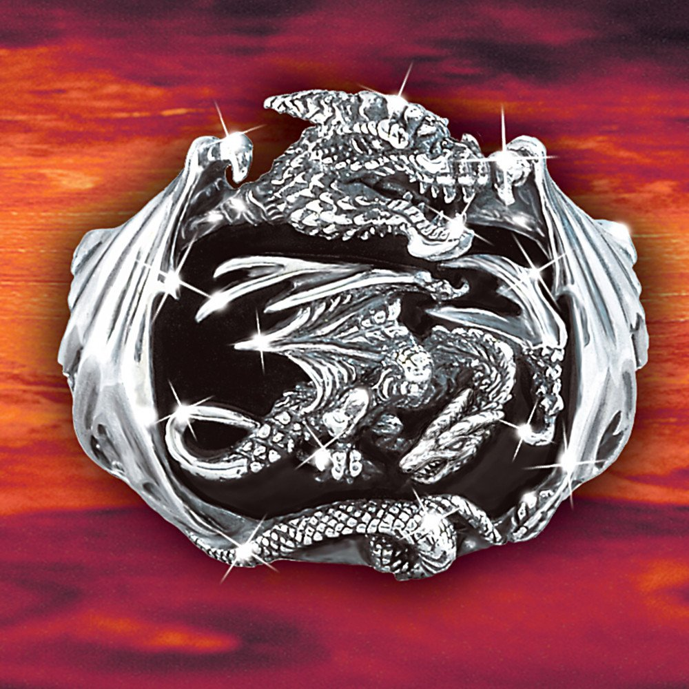 Ring fine jewelry jewelry collections for men realm of for Dragon gifts for men