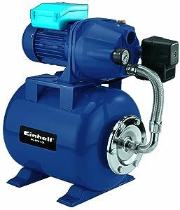 Einhell BGWW 636 Hauswasserwerk, 600 Watt, 3600 l/h Fördermenge, 20 l Behälter, Manometer  BaumarktKundenbewertung: