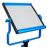 Dracast DRSPPL500DN S Series Plus Daylight LED500 Panel with 2 NPF Battery Plates, Blue (Color: Blue)