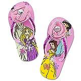 Disney Store Princesses Girl Flip Flops Shoes Size 11/12