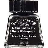 Winsor & Newton Drawing Ink Bottle, 14ml, Liquid Indian (Color: Liquid Indian Ink, Tamaño: 14-ml Bottle)
