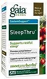 Gaia Herbs Sleepthru Liquid Phyto-Capsules, 60 Count