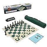 Wholesale Chess Club Starter Combo with Clock & Scorebook - Green
