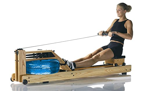 WaterRower Natural Rowing Machine in Ash Wood with S4 Monitor Review