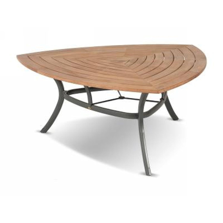 Hartman Tisch Triangular 170 x 170 x 170 cm Teakholz/Aluminium online bestellen