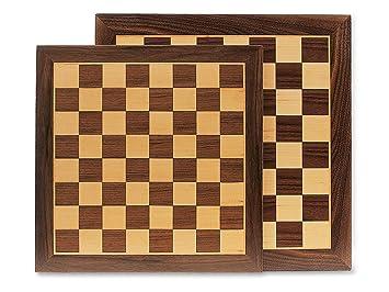 Cayro - 613 - Plateau D'échecs - Bois - 41 X 41 Cm
