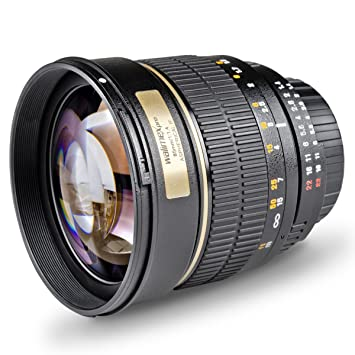 Objectif walimex pro 85/1,4 IF pour Olympus 4/3