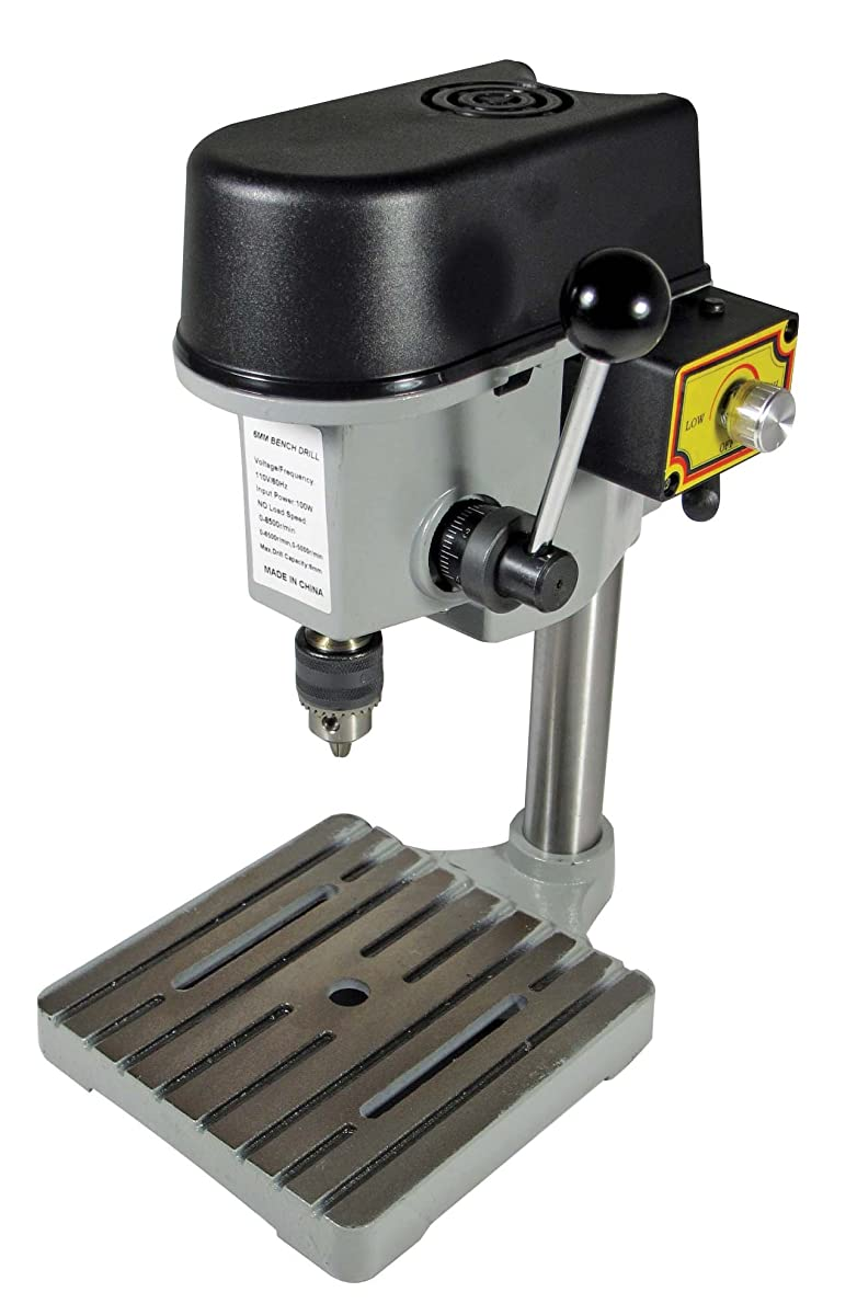 SE 97511MDP 3-Speed Mini Drill Press Bench for Jewelers & Hobbyists