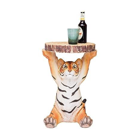 Kare 78892 - Tavolino Tigre, multicolore